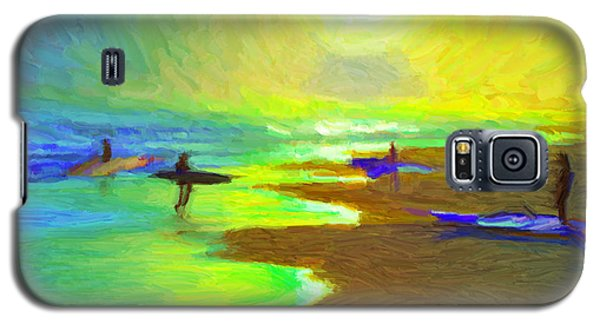 Into The Surf Galaxy S5 Case