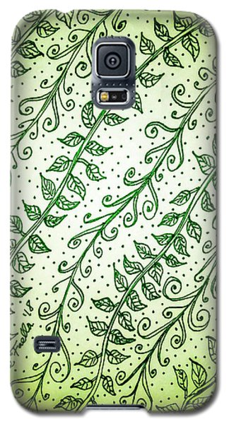 Into The Thick Of It, Green Galaxy S5 Case