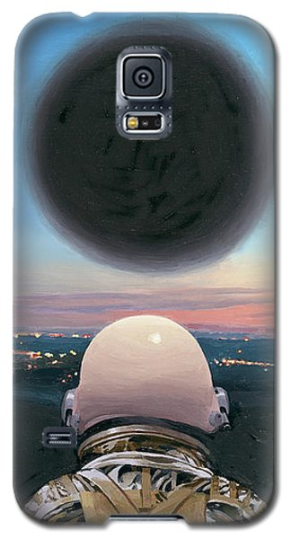 Galaxy S5 Case featuring the painting Into The Void by Scott Listfield