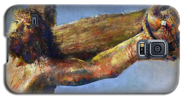 Galaxy S5 Case featuring the painting Into Your Hands by Andrew King
