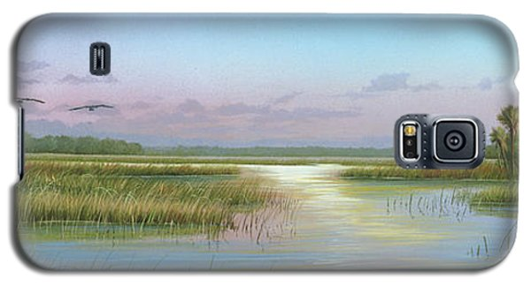 Intracoastal Glimmer Galaxy S5 Case
