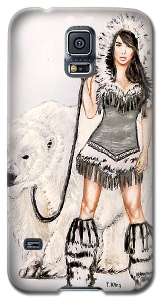 Inuit Pin-up Girl Galaxy S5 Case