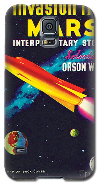 Galaxy S5 Case featuring the painting Invasion From Mars by Malcolm Smith