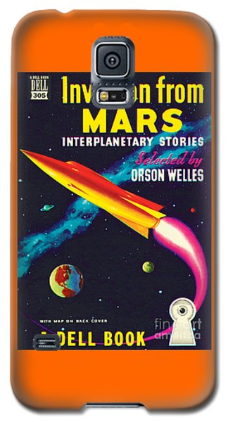 Invasion From Mars Galaxy S5 Case by Malcolm Smith