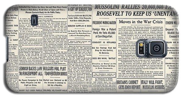 Mussolini Galaxy S5 Cases   Fine Art America