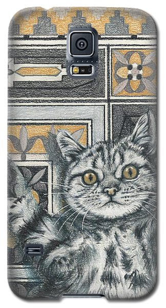 Invisible Cat Galaxy S5 Case