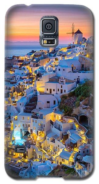 Oia Sunset Galaxy S5 Case
