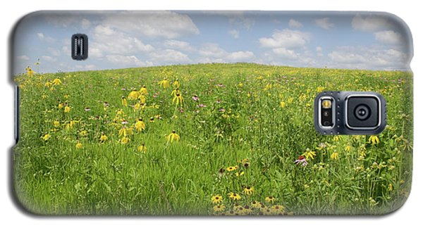 Galaxy S5 Case featuring the photograph Iowa Summer Flowers I by Dylan Punke