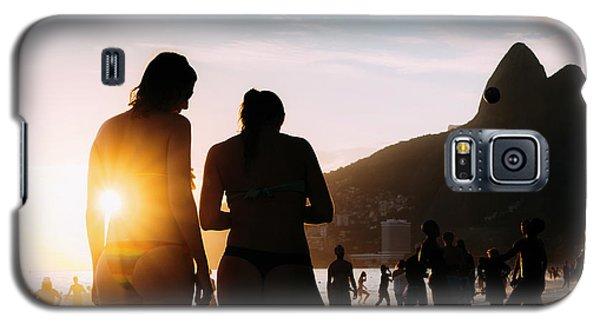 Ipanema, Rio De Janeiro, Brazil At Sunset Galaxy S5 Case