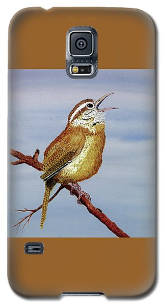 Irate Wren Galaxy S5 Case by Thom Glace