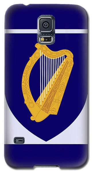 Ireland Coat Of Arms Galaxy S5 Case by Movie Poster Prints