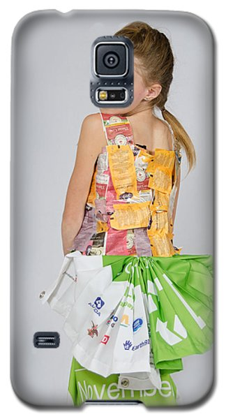 Irene In Tea Bags Shirt And Banners Skirt Galaxy S5 Case