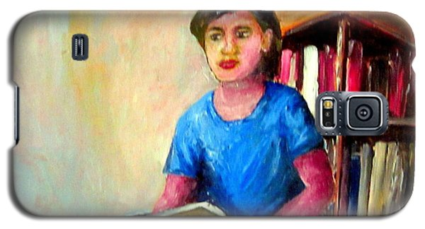 Galaxy S5 Case featuring the painting Irene by Jason Sentuf
