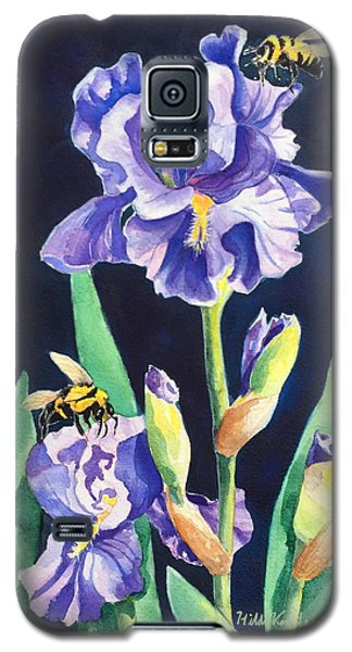 Iris And Bees Galaxy S5 Case