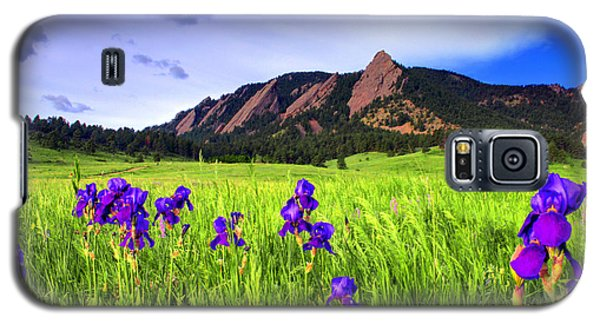 Iris And Flatirons Galaxy S5 Case