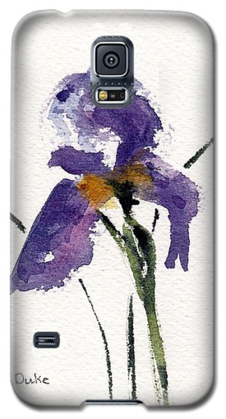 Galaxy S5 Case featuring the painting Iris  by Anne Duke