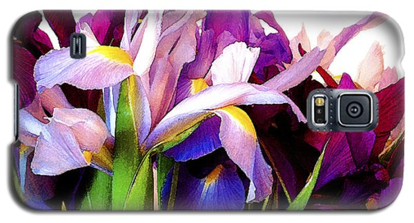 Iris Bouquet Galaxy S5 Case