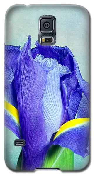 Iris Flower Of Faith And Hope Galaxy S5 Case by Tom Mc Nemar