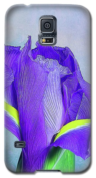 Iris Flower Galaxy S5 Case by Tom Mc Nemar