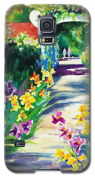 Iris Garden Walkway   Galaxy S5 Case