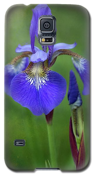 Galaxy S5 Case featuring the photograph Iris by Jacqui Boonstra