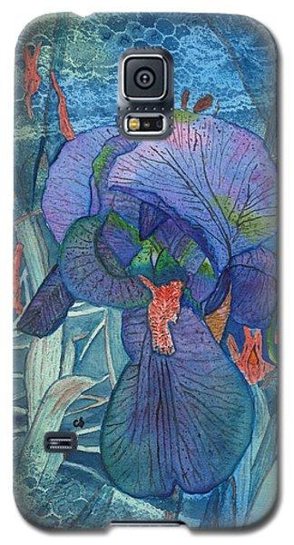 Iris Lace With Wild Columbine Galaxy S5 Case