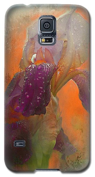 Galaxy S5 Case featuring the digital art Iris Resubmit by Jeff Burgess