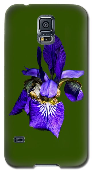 Galaxy S5 Case featuring the photograph Iris Versicolor by Mark Myhaver