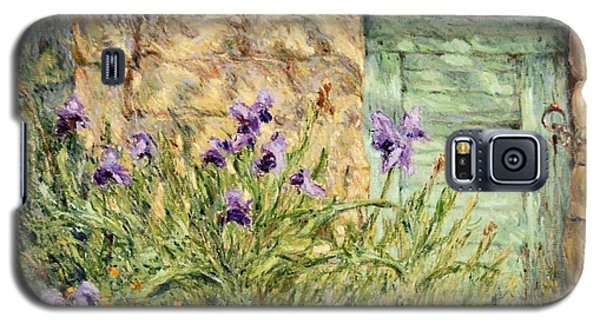Irises At The Old Barn Galaxy S5 Case
