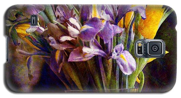 Irises In A Glass Galaxy S5 Case