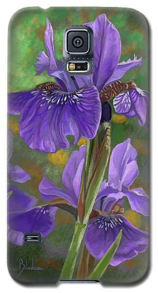 Irises Galaxy S5 Case by Lucie Bilodeau