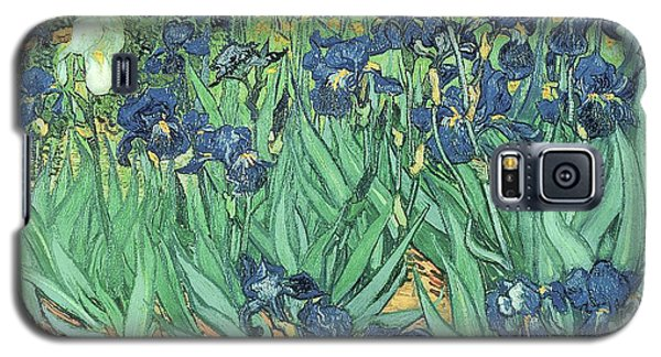 Garden Galaxy S5 Case - Irises by Vincent Van Gogh