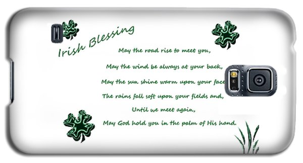 Irish Blessing 2 Galaxy S5 Case