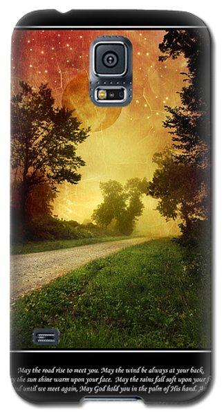 Irish Blessing Poster Art Galaxy S5 Case