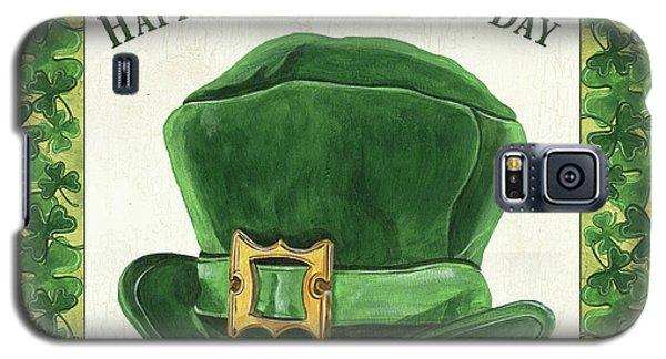 Galaxy S5 Case featuring the painting Irish Cap by Debbie DeWitt