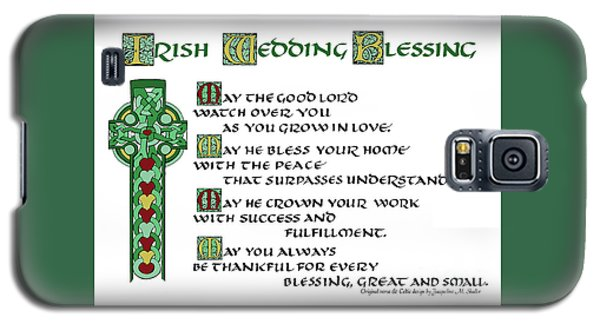 Irish Celtic Wedding Blessing Galaxy S5 Case