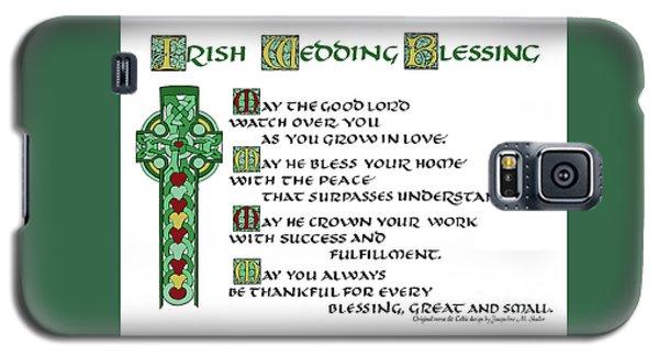 Irish Celtic Wedding Blessing Galaxy S5 Case