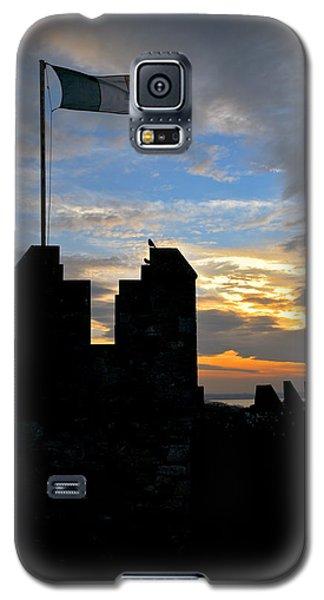 Irish Sunset Over Ramparts 1 Galaxy S5 Case