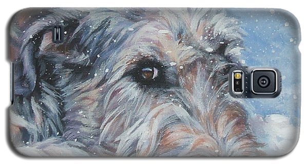 Irish Wolfhound Resting Galaxy S5 Case