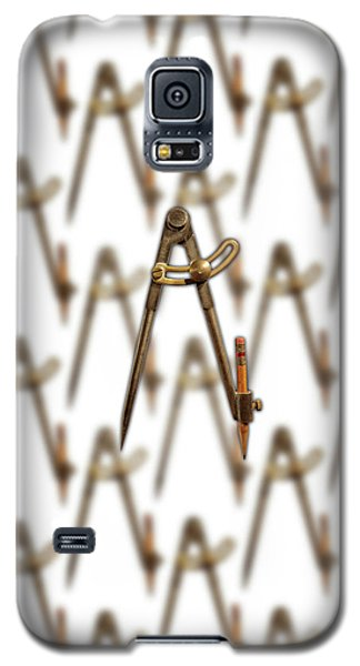 Galaxy S5 Case featuring the photograph Iron Compass Pattern by YoPedro
