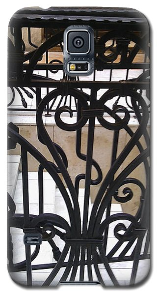 Iron Decorative Heart Galaxy S5 Case