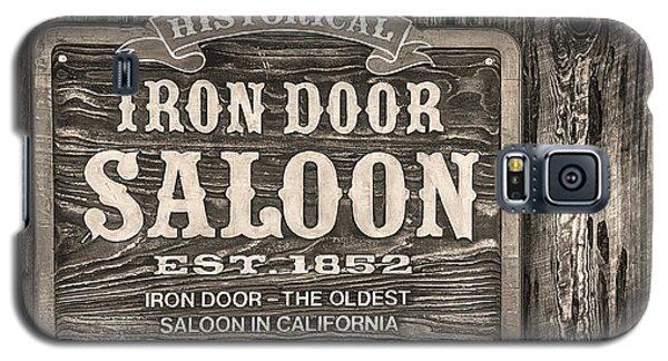 Iron Door Saloon 1852 Galaxy S5 Case