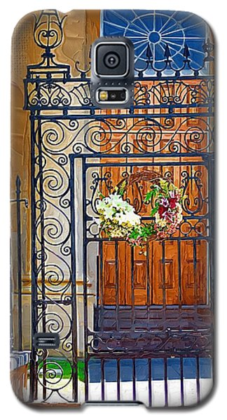 Galaxy S5 Case featuring the photograph Iron Gate by Donna Bentley