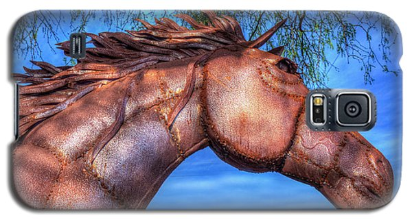 Galaxy S5 Case featuring the photograph Iron Horse by Paul Wear