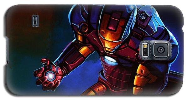 Superhero Galaxy S5 Case - Iron Man by Paul Meijering