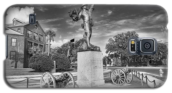 Iron Mke Statue - Parris Island Galaxy S5 Case