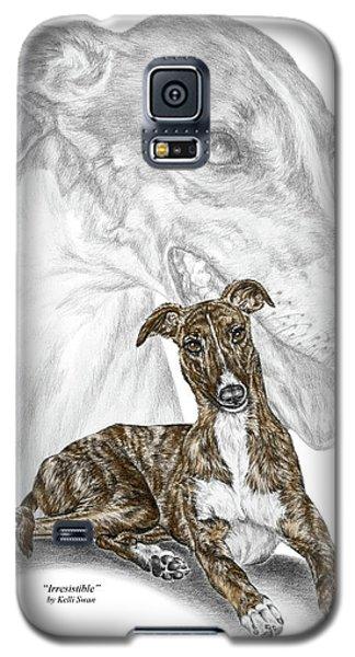 Irresistible - Greyhound Dog Print Color Tinted Galaxy S5 Case