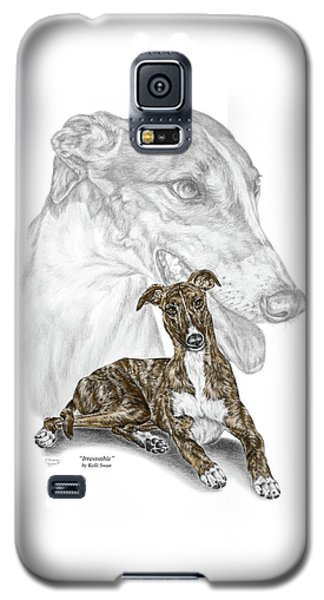 Irresistible - Greyhound Dog Print Color Tinted Galaxy S5 Case