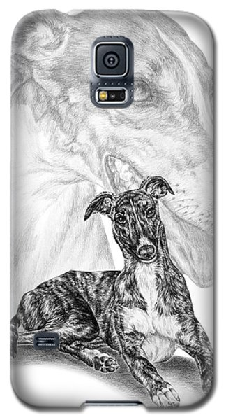 Irresistible - Greyhound Dog Print Galaxy S5 Case