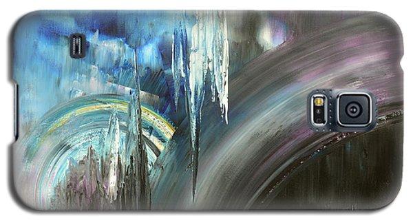 Galaxy S5 Case featuring the painting Irresistible Impulses by Tatiana Iliina